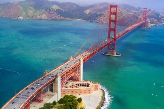 Top view bridge